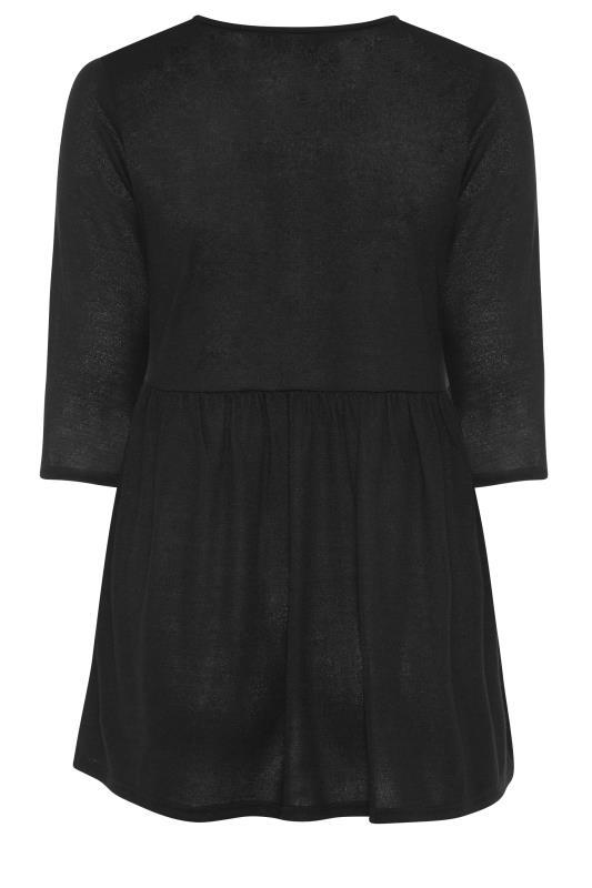 Black Mock Button Knitted Top_BK.jpg