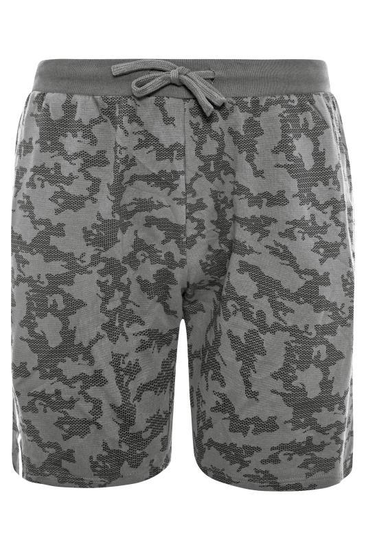 Men's  BadRhino Grey Camo Jogger Shorts