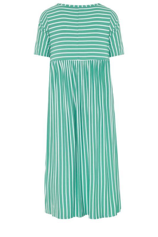 Emerald Green Stripe Dress_bk.jpg