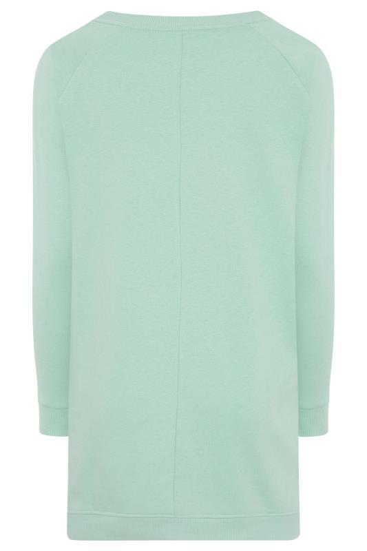 Super Soft Hand Feel Green Side Zip Sweatshirt_BK.jpg
