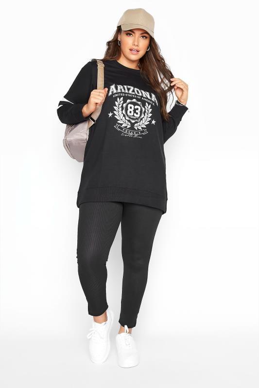 Black Varsity Stripe Arizona Sweatshirt_B.jpg