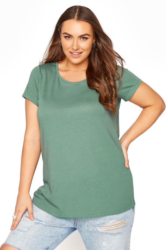 Sage Green Marl T-Shirt_A.jpg