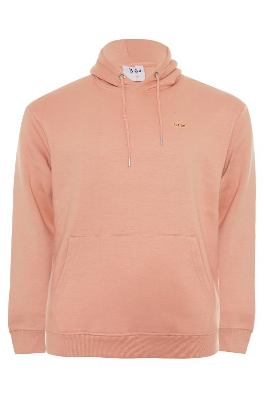 Plus Size  304 CLOTHING Pink Face Palm Hoodie