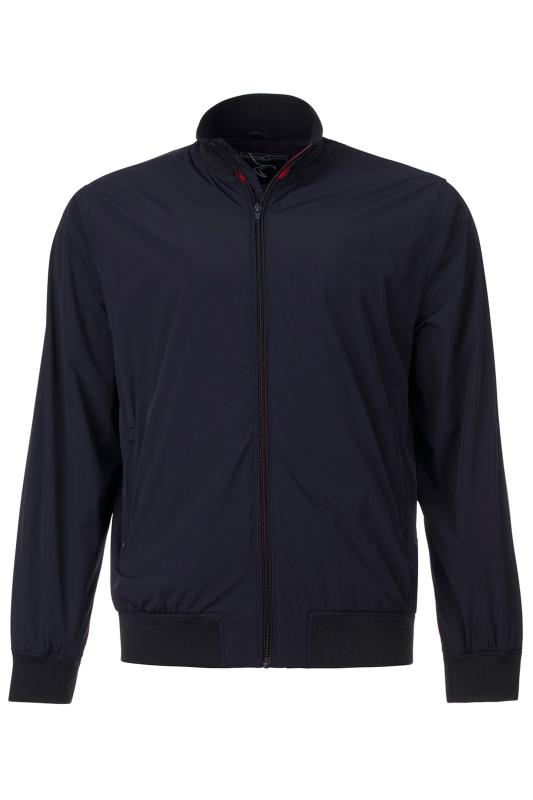 Plus Size  RAGING BULL Navy Lightweight Jacket