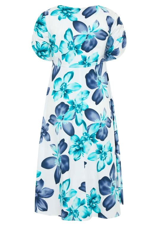 LIMITED COLLECTION White Floral Midi Dress_bk.jpg