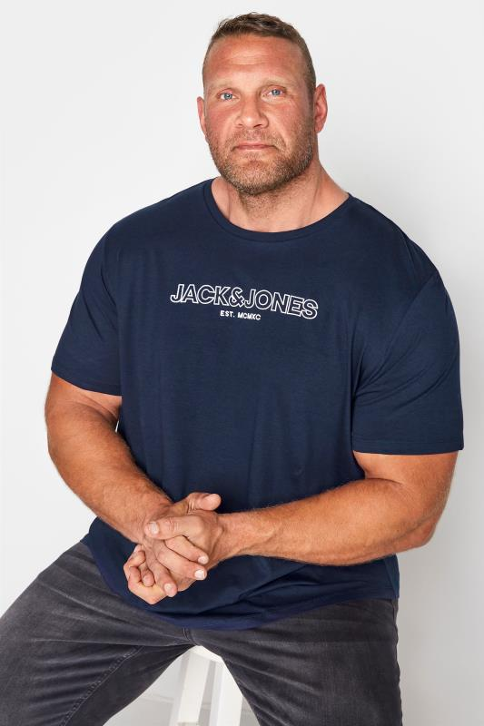 JACK & JONES Navy Bank T-Shirt_M.jpg