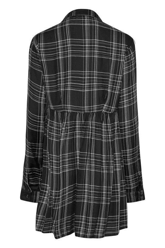 LTS Black Check Peplum Shirt_BK.jpg