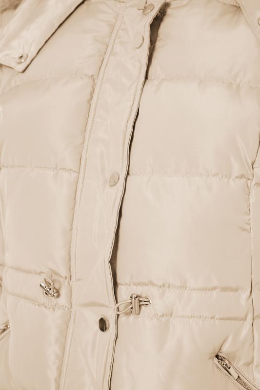 Cream Chevron Midi Puffer Coat_S.jpg