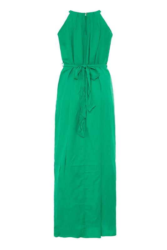 LTS Green Halter Neck Maxi Dress_BK.jpg