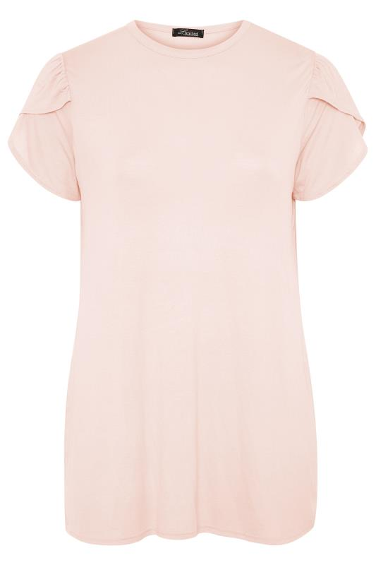 LIMITED COLLECTION Pink Wrap Sleeve Top