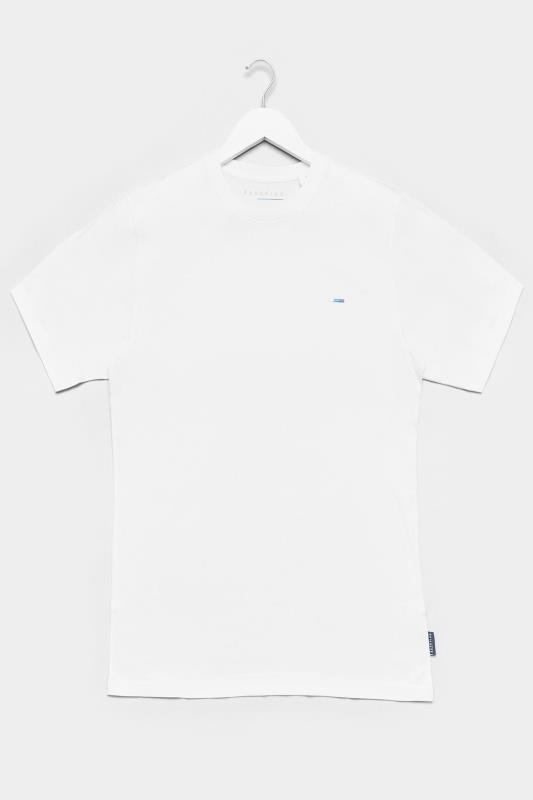 BadRhino White Recycled Plain T-Shirt_F.jpg