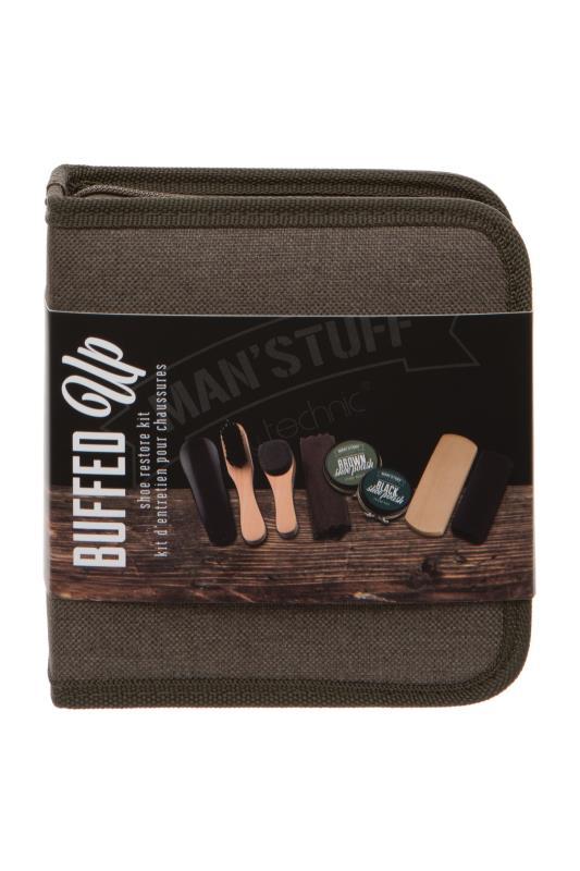 MANS'STUFF 'Buffed Up' Shoe Polish Gift Set