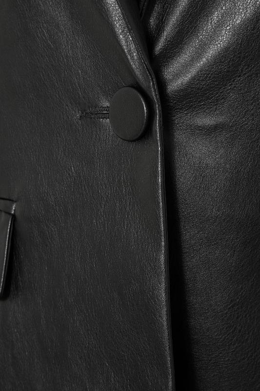 LTS Black Faux Leather Blazer_S.jpg