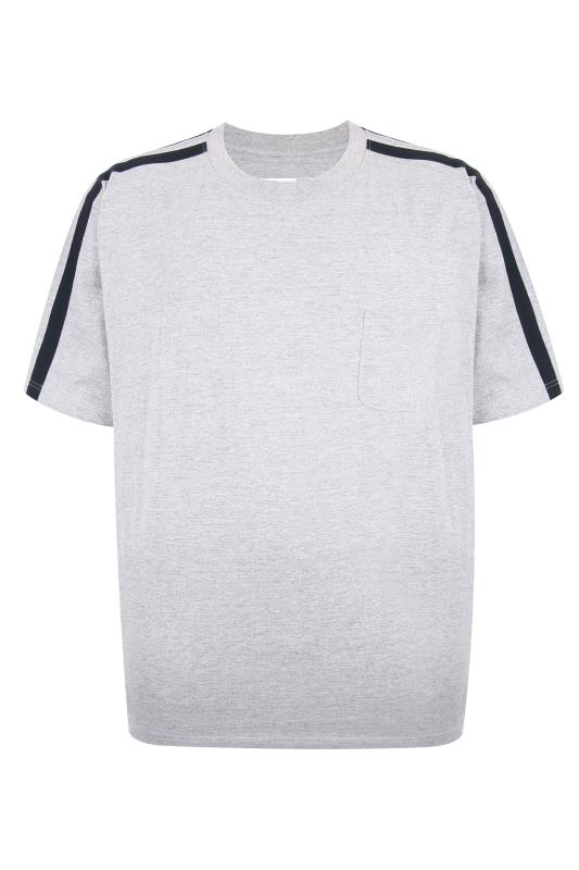 ED BAXTER Grey Lounge T-Shirt