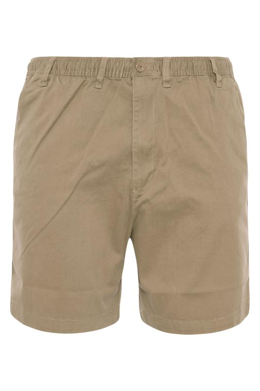 Grande Taille ESPIONAGE Sand Stretch Rugby Shorts