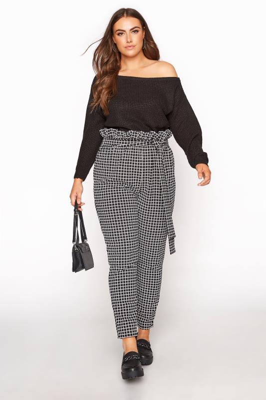 Black Check Paper Bag Trouser_A.jpg
