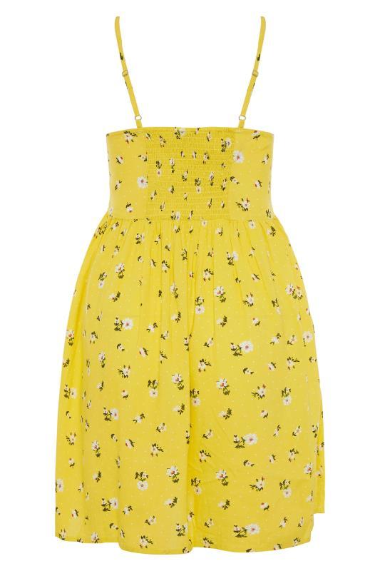 Yellow Floral Strappy Dress_BK.jpg