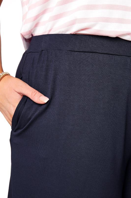 Navy Jersey Pull On Shorts_RD.jpg