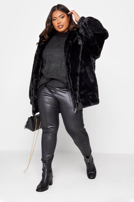 Black Faux Fur Oversized Jacket_80.jpg