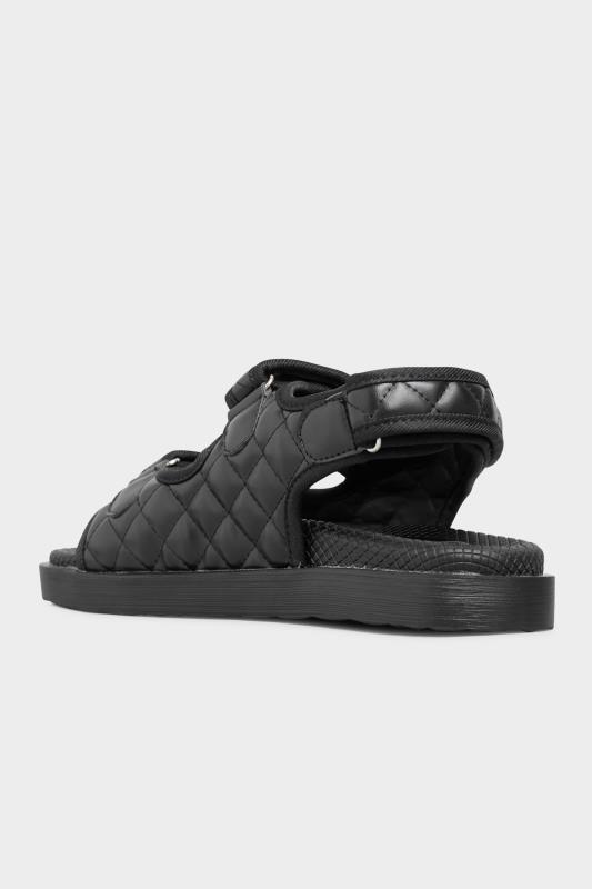 Black Quilted Velcro Sandal_D.jpg