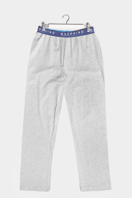 BadRhino Grey Marl Essential Lounge Bottoms