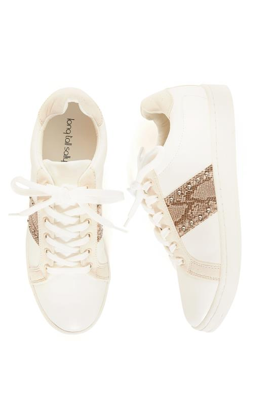 White Tamlin Fashion Trainers