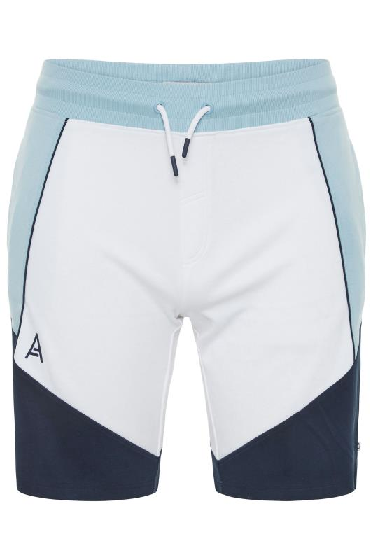 Plus Size  STUDIO A Light Blue Jogger Shorts