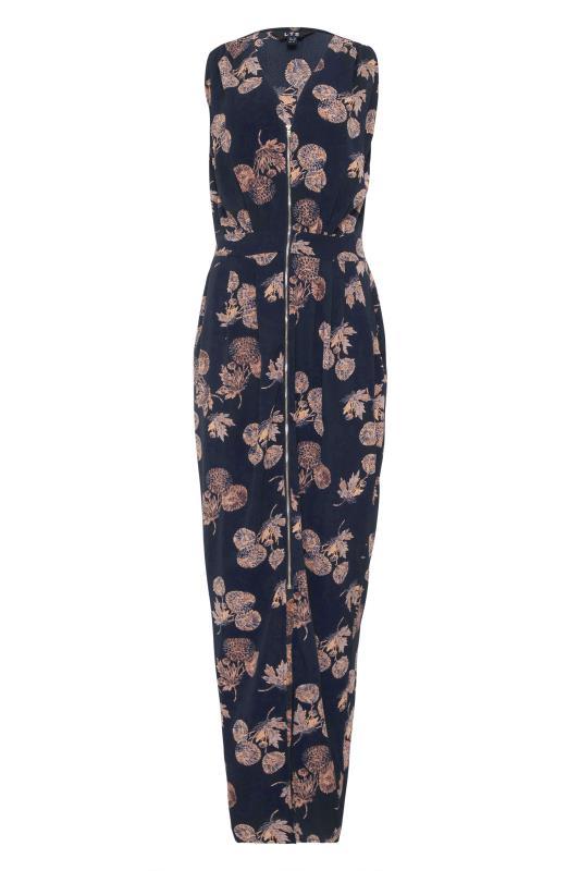 LTS Blue Zip Split Front Maxi Dress_F.jpg