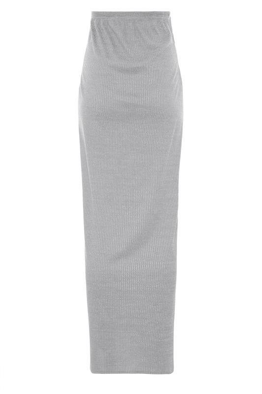 LTS Maternity Grey Ribbed Maxi Skirt_BK.jpg