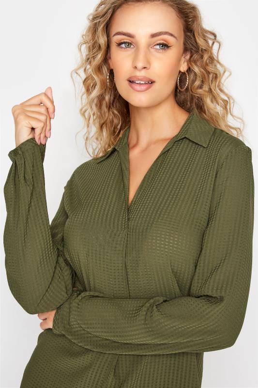 LTS Khaki Textured Overhead Shirt_D.jpg