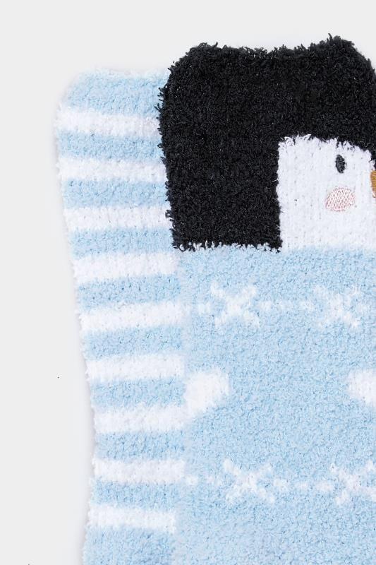 2 Pack Penguin Slipper Socks