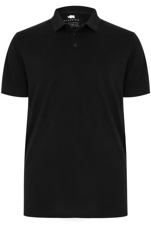 2 PACK BadRhino Black Basic Polo Shirt