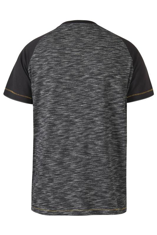 D555 Grey San Francisco Raglan Sleeve T-Shirt