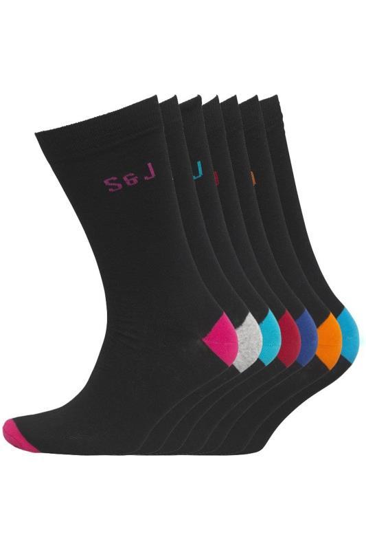 Men's  SMITH & JONES Multi Balerno Socks 7 Pack