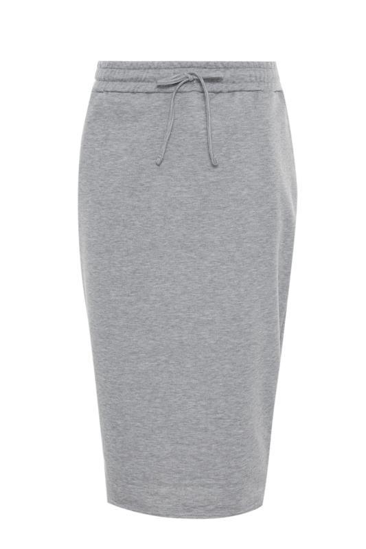 Tall  LTS Grey Marl Jersey Sweat Skirt
