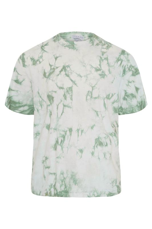 Tallas Grandes ANOTHER INFLUENCE Green Tie Dye T-Shirt