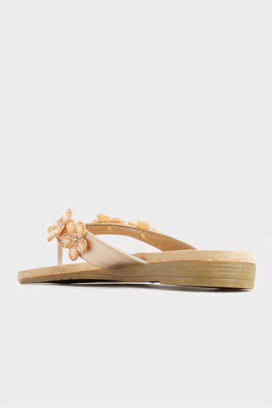 Rose Gold Flower Gem Sandals in Regular Fit_E.jpg