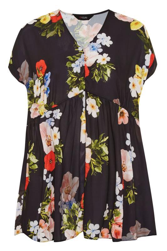 Black Floral Peplum Tunic Blouse_F.jpg
