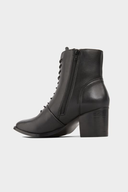 Black Leather Lace Up Heeled Boots In Extra Wide Fit_C.jpg