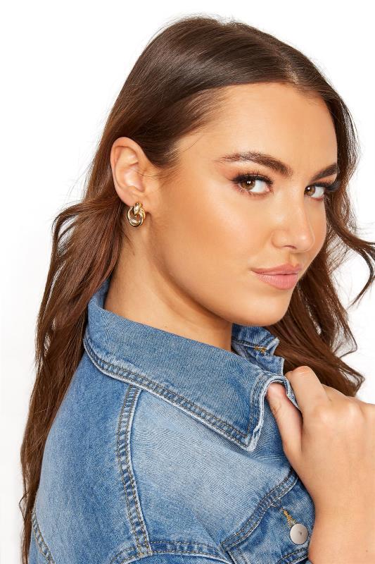 Gold Double Circle Stud Earrings_M.jpg
