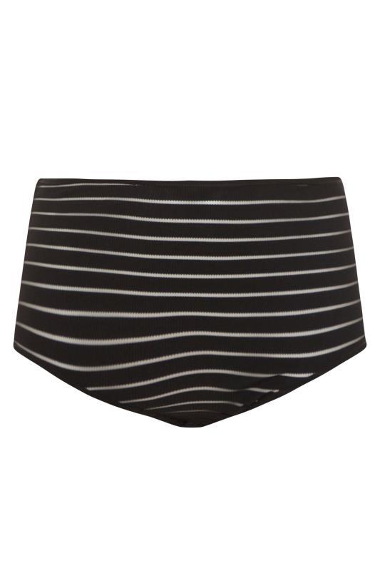 Black Mesh Sheer Stripe High Waisted Briefs_BK.jpg