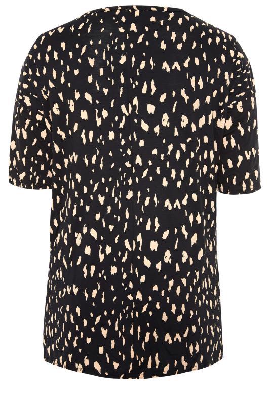 Black Animal Marking Oversized T-Shirt_BK.jpg