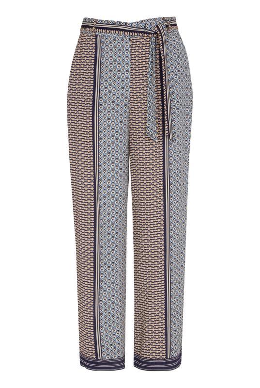 Grey Geometric Print Belted Culottes_F.jpg