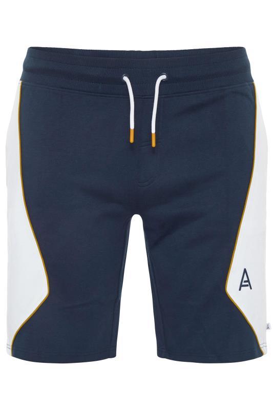 Plus Size  STUDIO A Navy Jogger Shorts