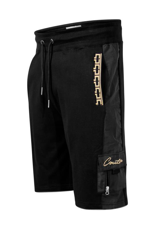 Men's  D555 Black Couture Cargo Shorts