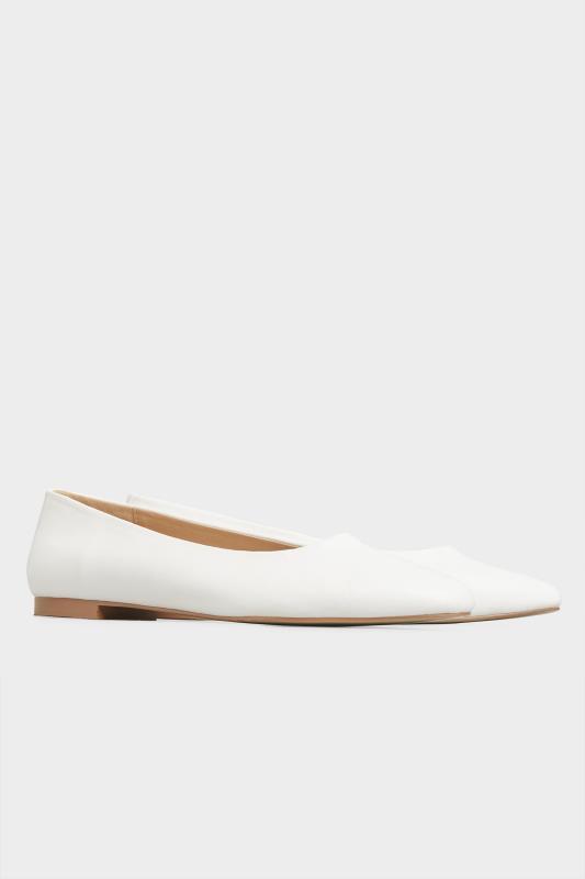 LTS Off-White Almond Toe Ballerinas_B.jpg