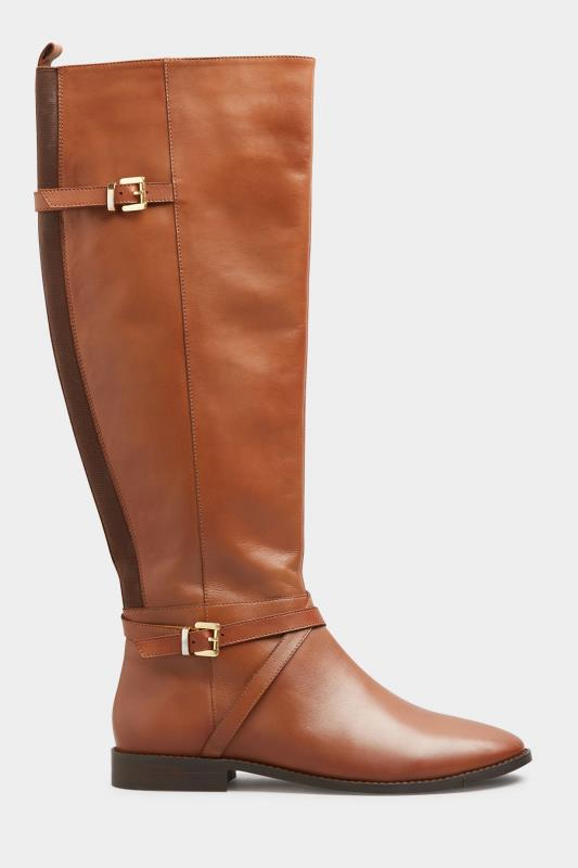 Tall  LTS Tan Leather Riding Boots