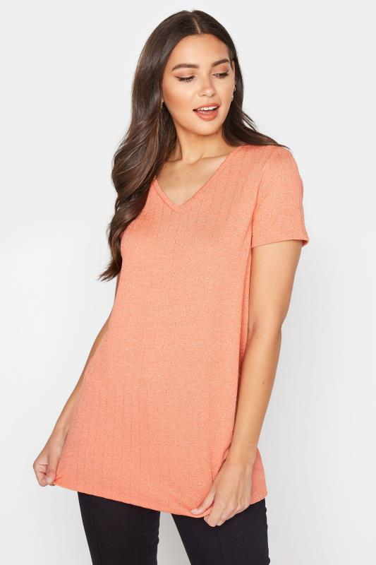 LTS Orange V-Neck T-Shirt_A.jpg