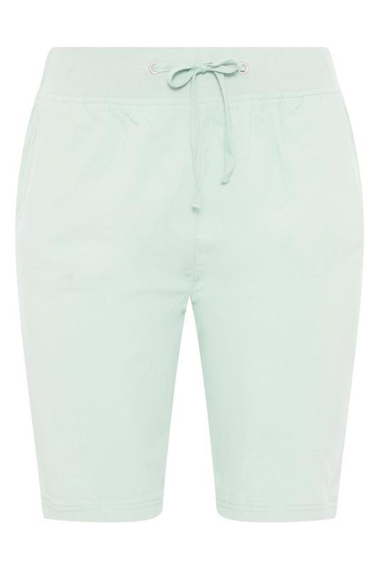 Mint Green Cool Cotton Shorts_F.jpg