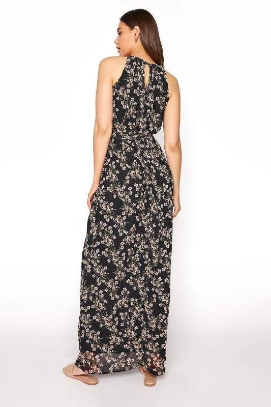 LTS Black Floral Halter Neck Maxi Dress_C.jpg